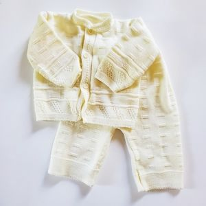Vintage Handmade Sweater Outfit